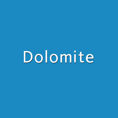 백운석(Dolomite)